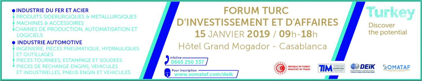 Forum Maroc Turquie